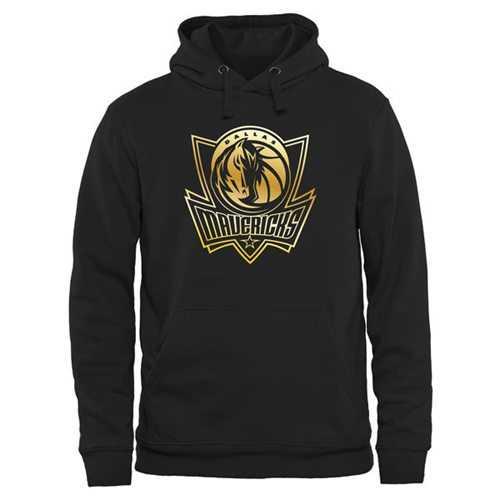Dallas Mavericks Gold Collection Pullover Hoodie Black