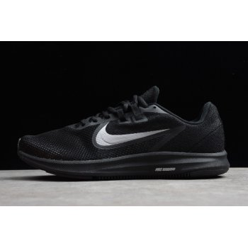 2019 Nike Downshifter 9 Black/Silver Running Shoes AQ7486-100 Shoes