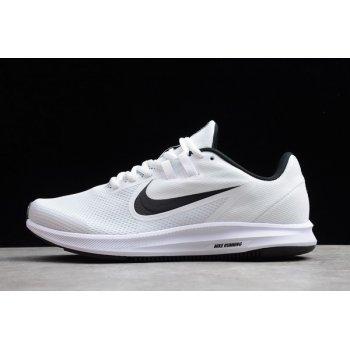 2019 Nike Downshifter 9 White/Black Running Shoes AQ7486-002 Shoes