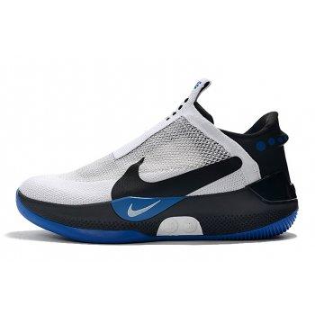 2020 Nike Adapt BB White/Black-Blue Shoes