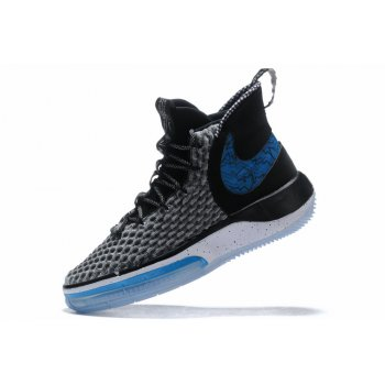 2020 Nike AlphaDunk Black/White-Royal Blue Shoes