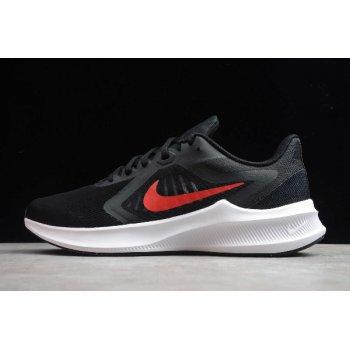 2020 Nike Downshifter 10 Black/University Red-White CI9981-006 Shoes