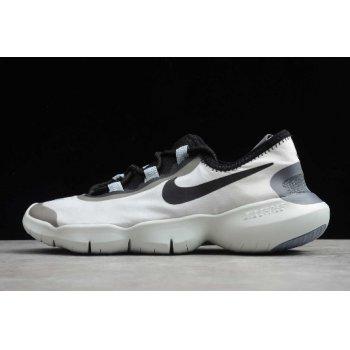 2020 Nike Free RN 5.0 White/Black-Blue Running Shoe CI9921-100 Shoes