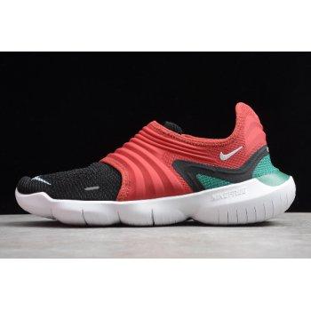 2020 Nike Free RN Flyknit 3.0 SF Gym Red/Black-White CD9270-610 Shoes