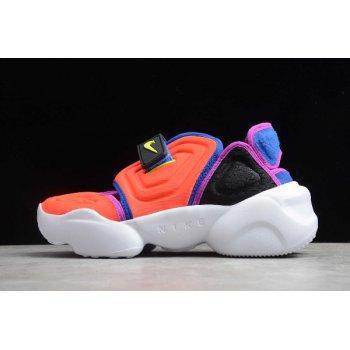 2020 Nike Wmns Aqua Rift Orange/Purple/Blue-Black-Yellow BQ4797-600 Shoes