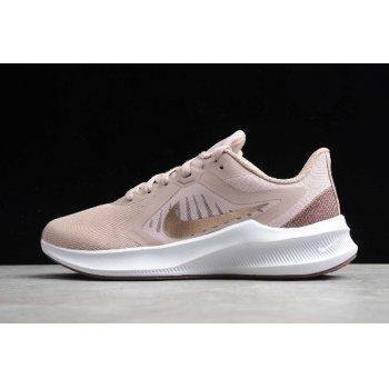 2020 Nike Wmns Downshifter 10 Stone Mauve/Barely Rose CI9984-200 Shoes