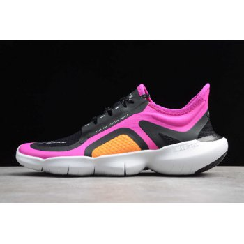 2020 WMNS Nike Free RN 5.0 Shield Fire Pink Black BV1224-600 Shoes