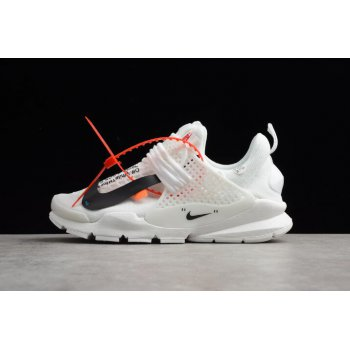 Custom Off-White x Nike Sock Dart In White 819686-058 Shoes