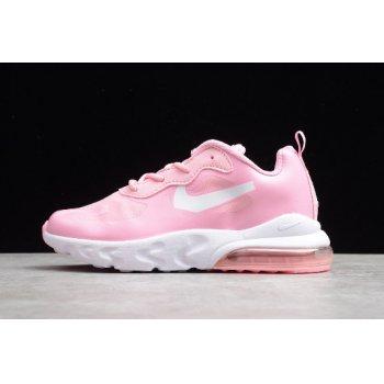 Kid's Nike Air Max 270 React Pink/White CD2655-005 Shoes