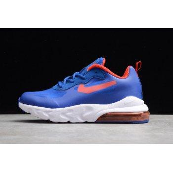 Kid's Nike Air Max 270 React Royal Blue/Red-White CD2655-009 Shoes