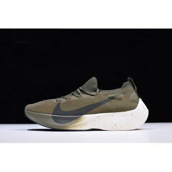 Men's Nike Vapor Street Flyknit Medium Olive/Sequoia AQ1763-201 Shoes