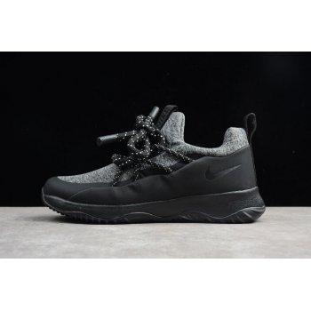 Men's and Women's Nike City Loop Black/Dark Grey AA1097-001 Shoes