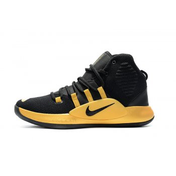 New Nike Hyperdunk X Black Gold Men's Basketball Shoes Shoes
