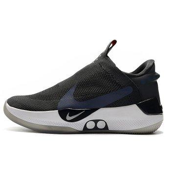Nike Adapt BB Black/Grey-White-Silver Shoes
