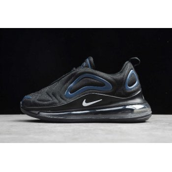 Nike Air Max 720 Black/Dark Blue-White Kids' Sizing AO2924-016 Shoes