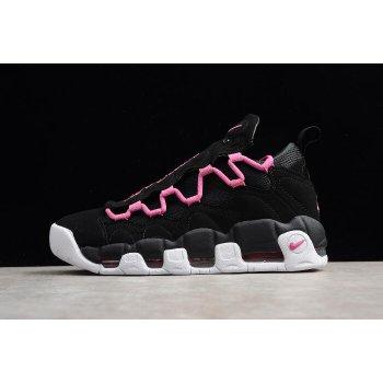 Nike Air More Money QS Black/Fuschia-White Men's and Women's Size Shoes AJ7383-001 Shoes