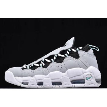 Nike Air More Money Wolf Grey/Black-Island Green AJ2998-003 Shoes