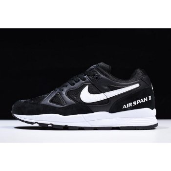 Nike Air Span II Black/White AH8047-002 Shoes