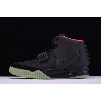 Men's Nike Air Yeezy 2 NRG Black/Solar Red 508214-006 Shoes