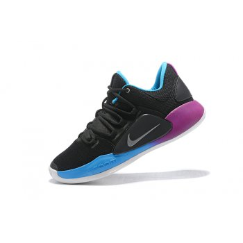Nike Hyperdunk X Low EP 2018 Black/Purple-Blue Men's Basketball Shoes Shoes
