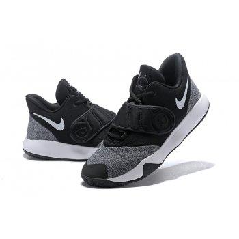Nike KD Trey 5 VI Black/White-Grey AA7067-001 Shoes