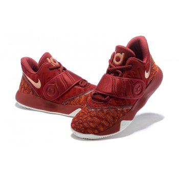 Nike KD Trey 5 VI Bordeaux/Metallic Gold-White Men's Basketball Shoes Shoes
