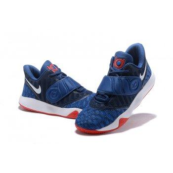 Nike KD Trey 5 VI Navy Blue/White-Red Men's Basketball Shoes Shoes