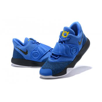 Nike KD Trey 5 VI Royal Blue/Black/Metallic Gold/White AA7067-401 Shoes