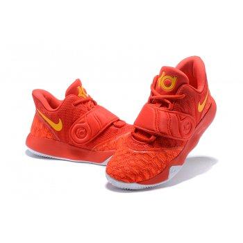 Nike KD Trey 5 VI University Red/Yellow Men's Basketball Shoes Shoes