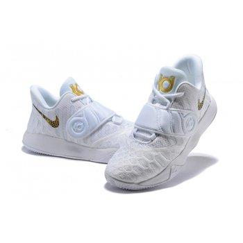 Nike KD Trey 5 VI White Gold Men's Basketball Shoes Shoes