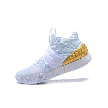 Nike Kyrie S1 Hybrid White/Metallic Gold Men's Size Shoes