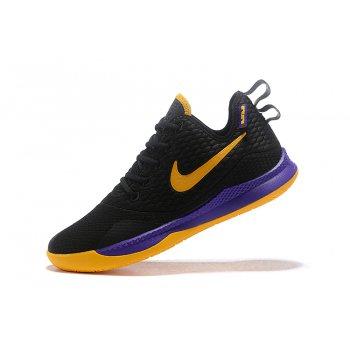 Nike LeBron Witness 3 Black/Yellow-Purple Shoes