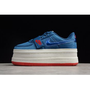 Nike Vandal 2K Gym Blue/Summit White Women's Size AO2868-400 On Sale Shoes