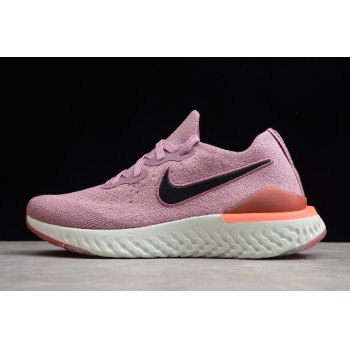 Nike Wmns Epic React Flyknit 2 Plum Dust Running Shoe BQ8927-500 Shoes