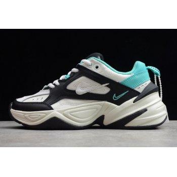 Wmns Nike M2K Tekno Summit White/Black-Hyper Jade-Summit White AO3108-102 Shoes