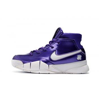 Nike Zoom Kobe 1 Protro Purple Patent Leather Shoes