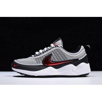 NikeLab Zoom Spiridon OG Black/Sport Red Men's Size 849776-001 Shoes