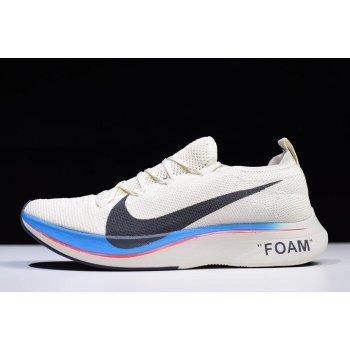 Off-White x Nike Vapor Street Flyknit The Ten Vast Grey/Light Carbon AJ3857-004 Shoes