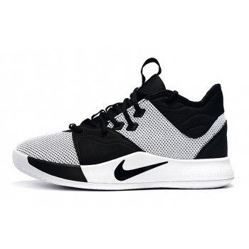 Shop Men's Nike PG 3 White/Black Shoes 2019 Shoes