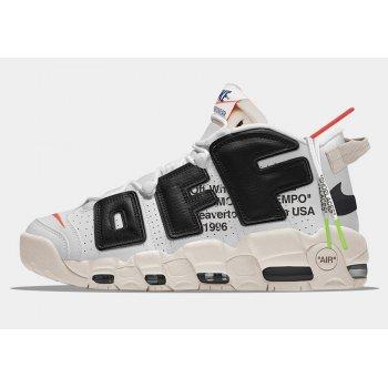 Virgil Abloh Off-White x Nike Air More Uptempo The Ten Men's Size Shoes