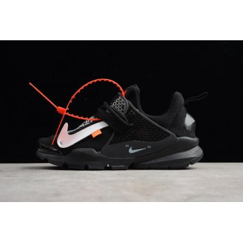 Virgil Abloh Off-White x Nike Sock Dart In Black 819686-059 Shoes