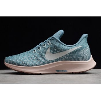 Wmns Nike Air Zoom Pegasus 35 Celestial Teal/Light Silver 942855-403 Shoes