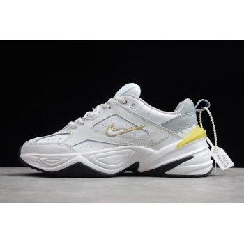 Wmns Nike M2K Tekno Platinum Tint/Wolf Grey/Summit White/Celery AO3108-009 Shoes