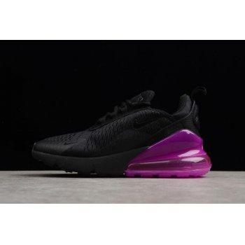 Women's Nike Air Max 270 Black Purple Running Shoes AH6789-106 Shoes
