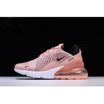 Women's Nike Air Max 270 Coral Stardust/Black-Summit White AH6789-600 Shoes