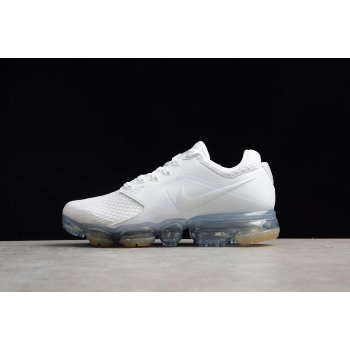 Women's Nike Air VaporMax White/White-Metallic Silver Running Shoes AH9045-101 Shoes