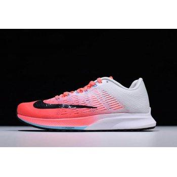Women's Nike Air Zoom Elite 9 Hot Punch/Black-White-Lava Glow 863770-600 Shoes