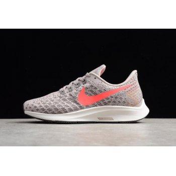 Women's Nike Air Zoom Pegasus 35 Particle Rose/Flash Crimson 942855-602 Shoes