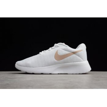 Women's Nike Tanjun White/Particle Rose 812655-102 Shoes