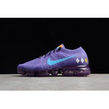 Women's NikeLab Air VaporMax Flyknit Purple/Water Moonlight AA3859-015 Shoes